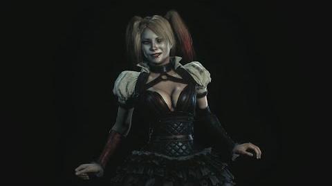 Batman Arkham Knight Harley Quinn Game Over Screens