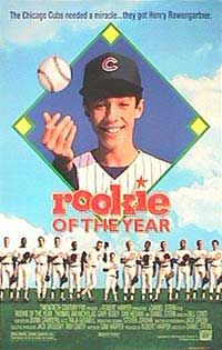 baseball movies of the 90s - Rookie of the Year