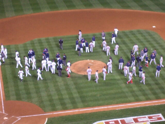 File:1192810363 Benches Clear Game 5 ALCS.JPG