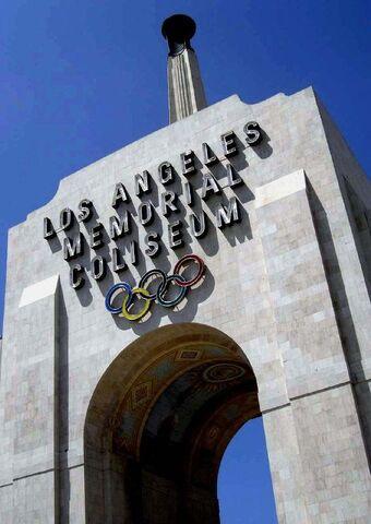 File:LA Coliseum gate.jpg