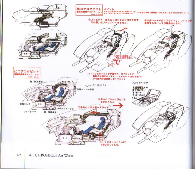 Armored Core Pilot Pilot Core lr
