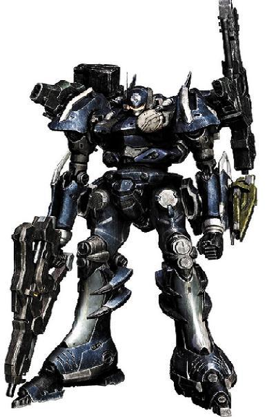 Armored Core Pilot in Armored Core Nexus