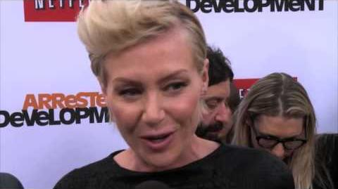 Arrested Development Season 4 Portia de Rossi and Ellen DeGeneres Premiere Interview