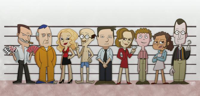Fan art cast lineup