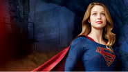Supergirl poster textless
