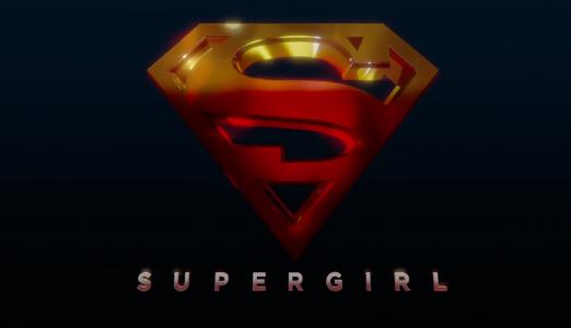 Supergirl season 1 title card