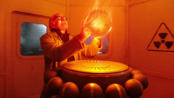 Martin Stein absorbs energy from the thermal core