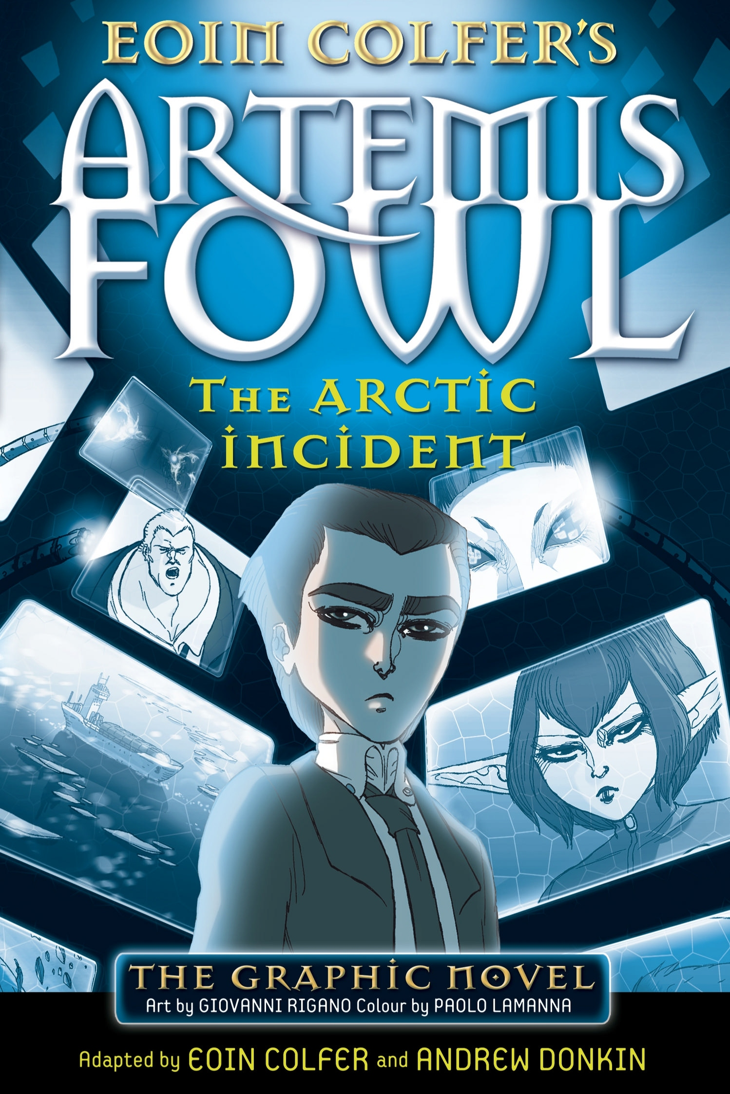 The Arctic Incident: The Graphic Novel | Artemis Fowl ...
