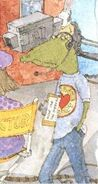 Tbbs book aligator guy