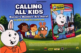 Busters Buddies DVD advertisement Nickelodeon Magazine Dec Jan 2006