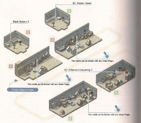 Temple of Elemia - Outer Wall Map 1
