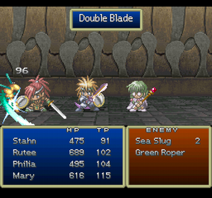 Double Blade (ToD PSX)