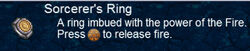 ToP iOS Sorcerer's Ring