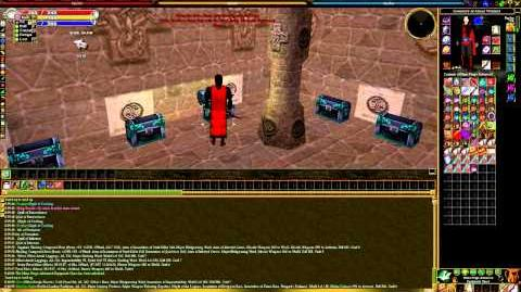 Asheron's Call - Mana Forge Chests