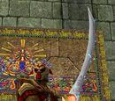 Red Rune Silveran Greatsword