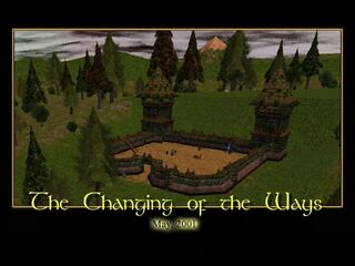 The Changing of the Ways Splash Screen