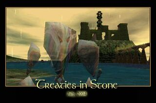 Treaties in Stone Splash Screen
