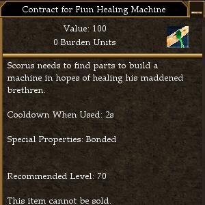 healing machine