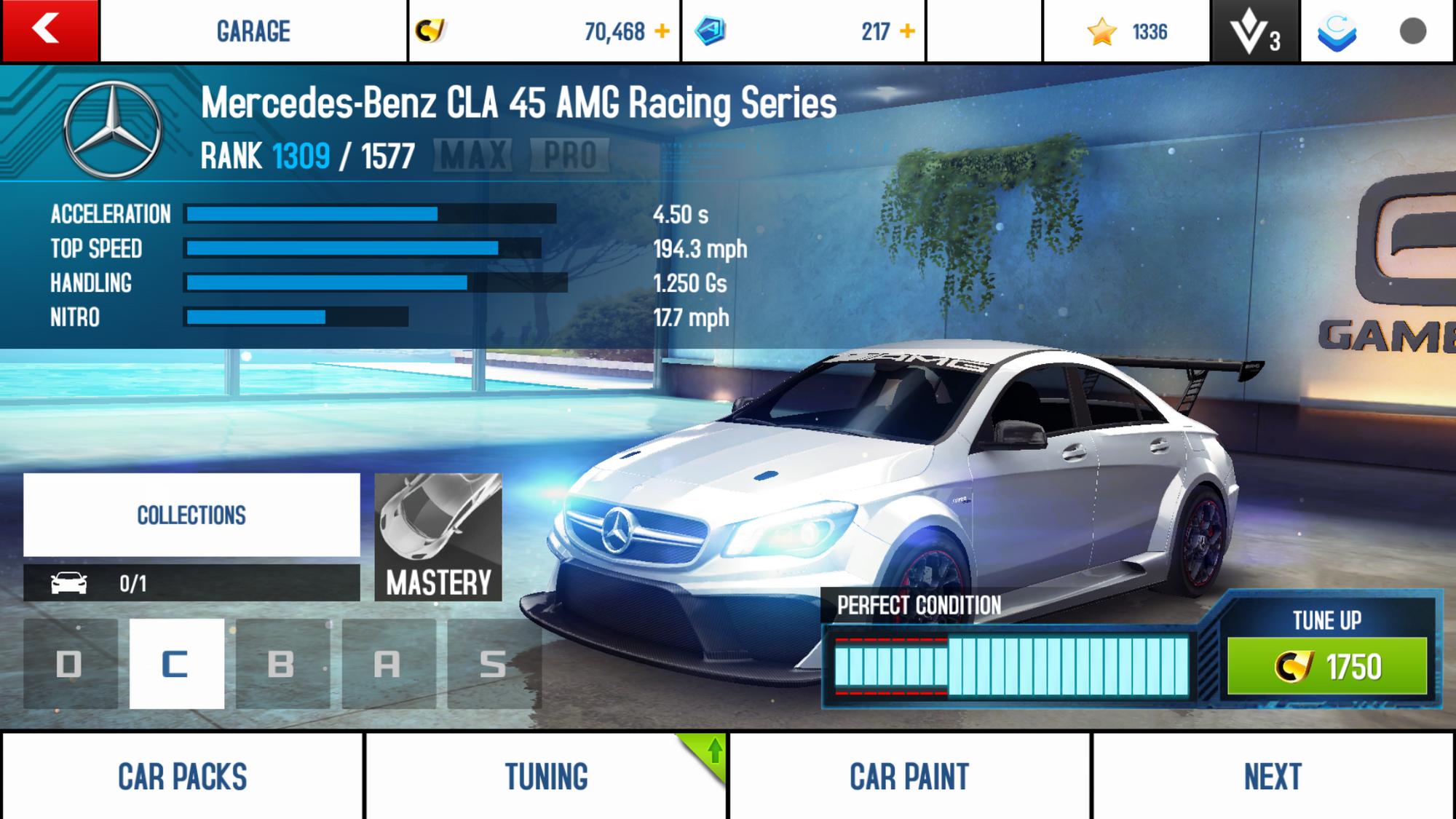 Mercedes benz cla 45 amg racing series asphalt wiki for Mercedes benz biome wiki