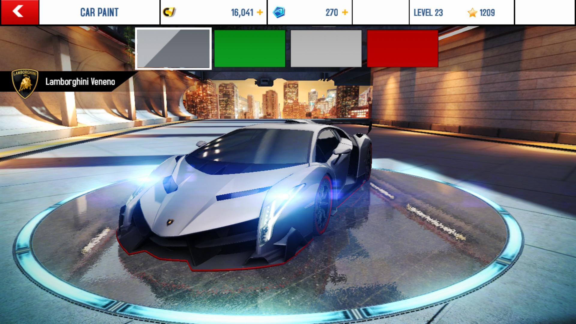 Lamborghini VenenoColor Customization