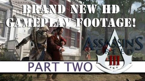 Assassins Creed 3 BRAND NEW GAMEPLAY - Part Two - Platform32