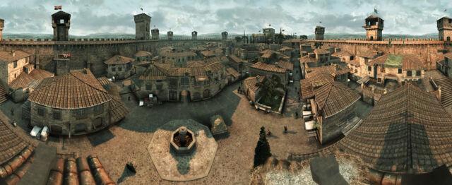 File:Monteriggioni Streets Aerial View.jpg