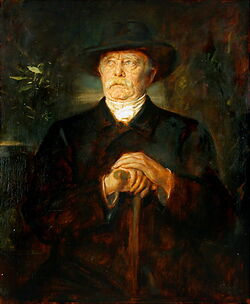 Franz von Lenbach Bismarck