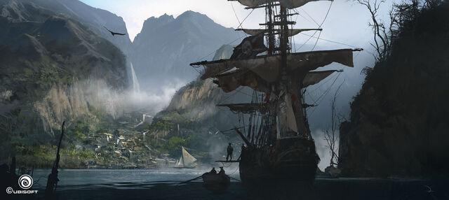 File:Assassin's Creed IV Black Flag concept art 9.jpg