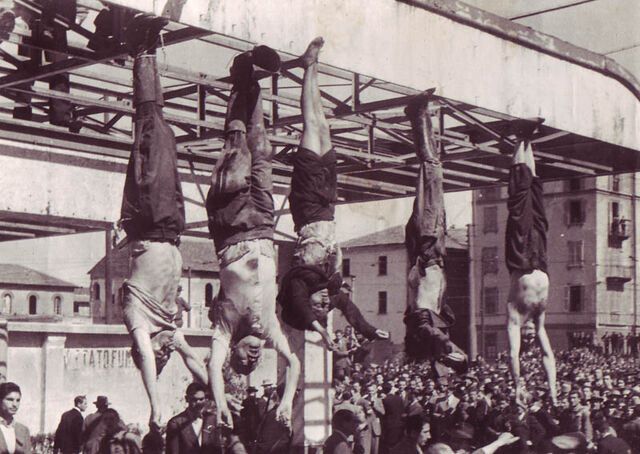 File:Dead body of Mussolini.jpg