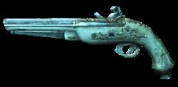 AC4 Golden Flintlock Pistols