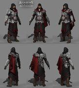 Laurent Sauvage armor model - Assassin's Creed Brotherhood
