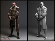 Francesco Troche character model by Senecal
