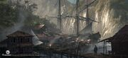 AC4BF Fishermen Village - Concept Art