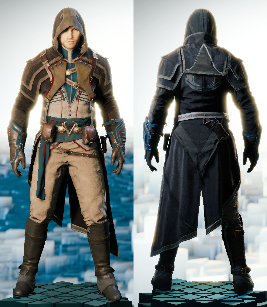 beautiful assassin's creed outfits unity kids