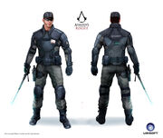 ACRG Abstergo Guard - Concept Art