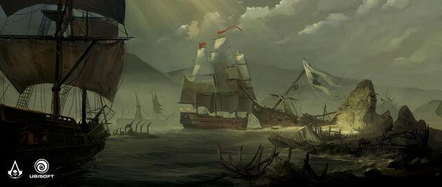 File:AC4 Ship Graveyard - Concept Art.jpg