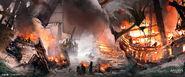 Assassin's Creed 4 - Black Flag concept art 8 by janurschel