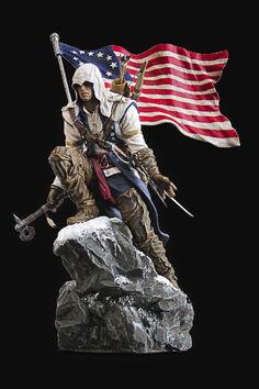 AC3 Connor Freedom Edition (Figurine)