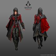ACS Evie Frye Master Assassin Outfit - Concept Art