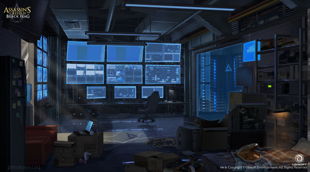File:Assassin's Creed IV Black Flag Abstergo Entertainment interior 4 Concept Art by EddieBennun.jpg