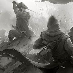 <i>Entering the Battlefield</i>概念图