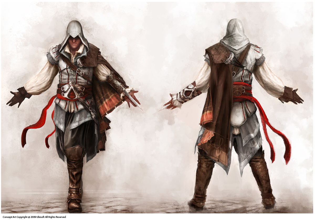 Image - Assassin's Creed 2 Ezio Concept.jpg | Assassin's Creed Wiki ...
