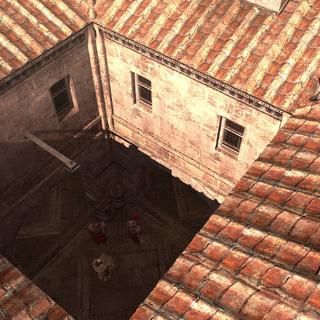 艾吉奥在罗马窃听一次会面。