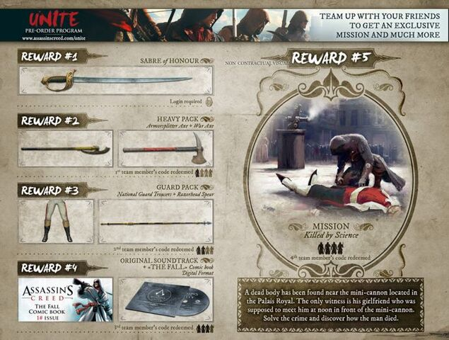 File:Assassin's Creed Unity UNITE Pre-Order Program.jpg