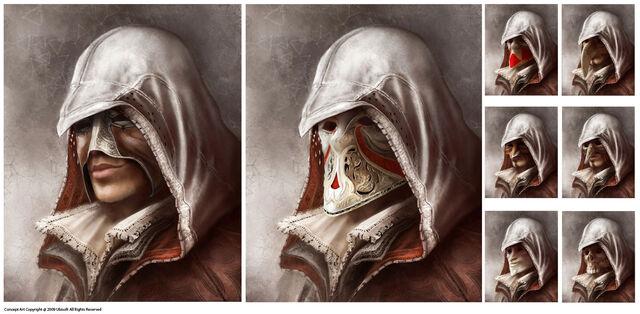 File:AC2 Carnevale Masks Concept Art.jpg