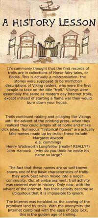 TrollHistory