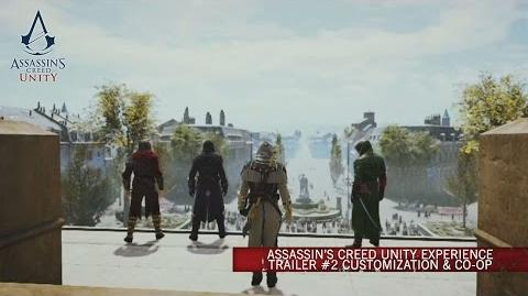 Assassin's Creed Unity Experience Trailer 2 Customization & Co-op UK