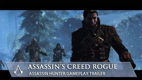 Assassin's Creed Rogue Assassin Hunter Gameplay Trailer North America