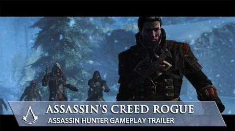Assassin's Creed Rogue Assassin Hunter Gameplay Trailer North America