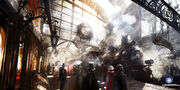 ACU Gare d'Orsay - Concept Art